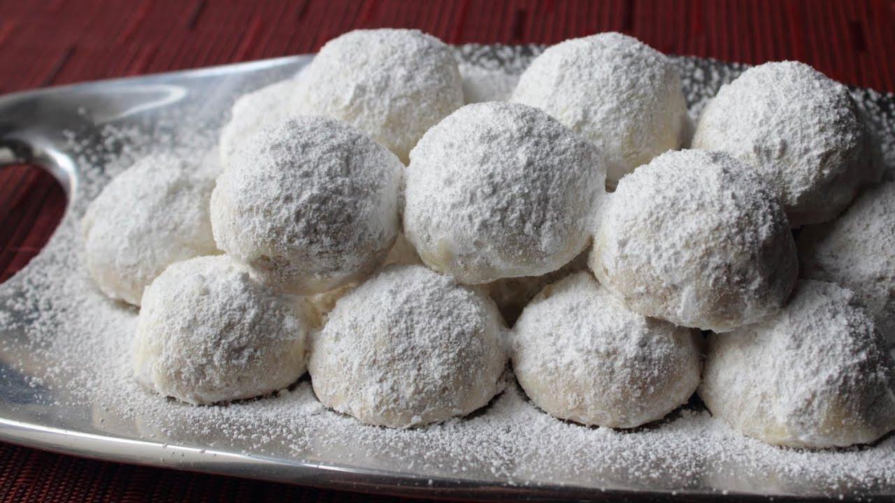 Russian Christmas Cookies  Russian Tea Cakes Easy Tea Cookies Recipe aka Wedding