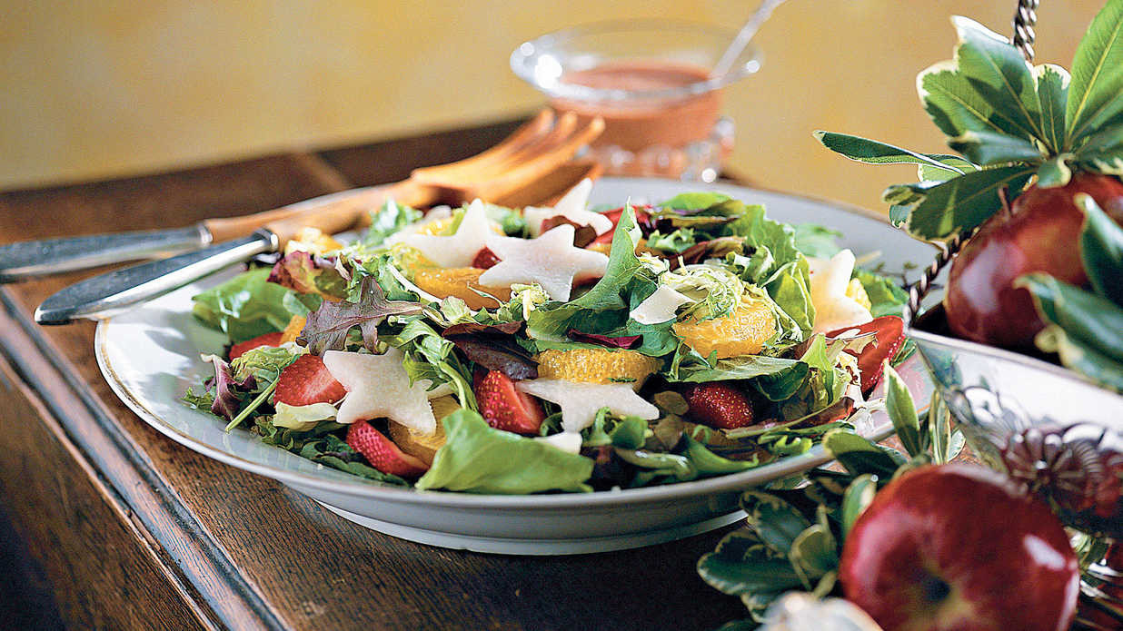 Salads For Thanksgiving Dinner  Cranberry Strawberry Jcama Salad 102 Best Thanksgiving