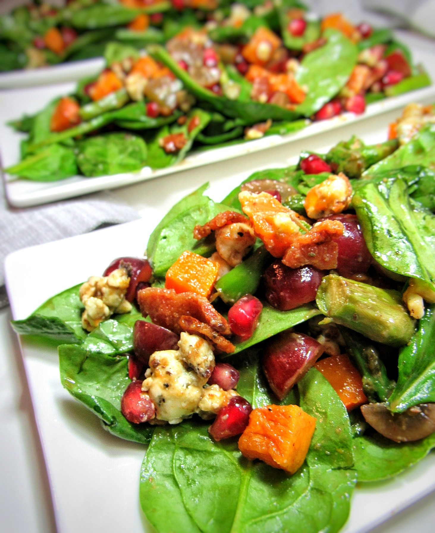 Salads For Thanksgiving Dinner  Thanksgiving Dinner Salad with Butternut Squash bits and