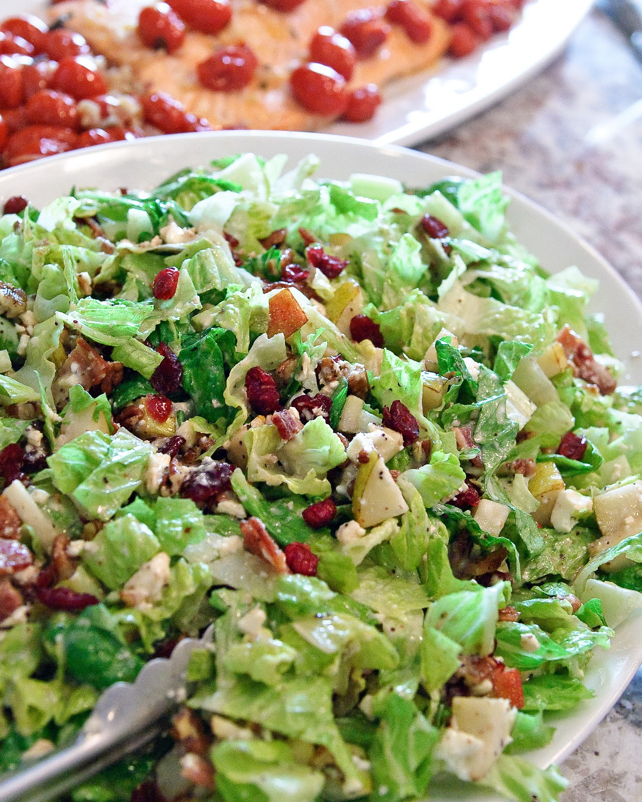 Salads For Thanksgiving Potluck  Autumn Chopped Salad Espresso and CreamEspresso and Cream