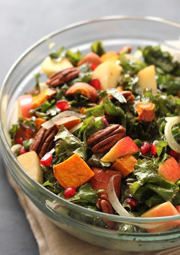 Salads For Thanksgiving Potluck  Easy to transport Thanksgiving potluck recipes