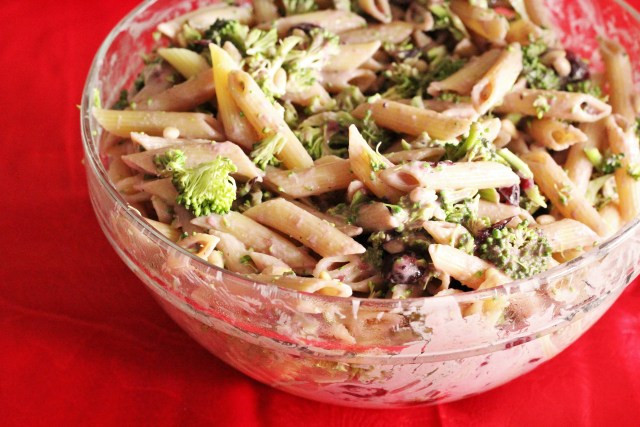 Salads For Thanksgiving Potluck  Holiday Potluck Pasta Salad Recipe The Healthy Mouse