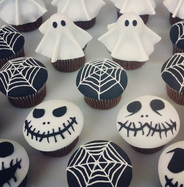 Scary Halloween Cupcakes  Halloween Party Recipes – Spooky Cupcakes Baking – Fresh