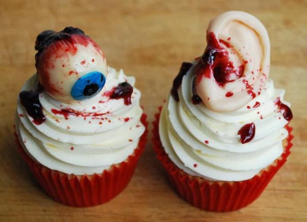 Scary Halloween Cupcakes  25 Weird Creepy Spooky and Scary Halloween Cakes