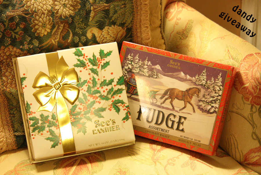 Sees Christmas Candy  See s Can s Christmas Gifts Review Dandy Giveaway