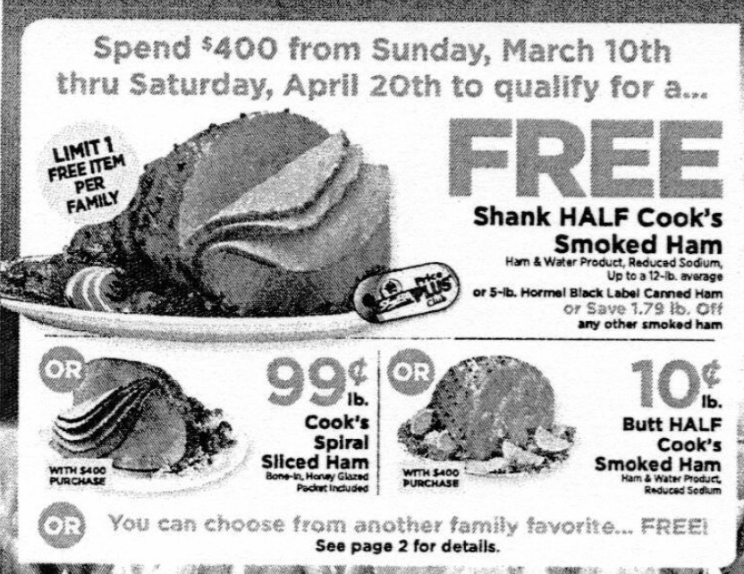 Shoprite Thanksgiving Dinner  ShopRite Holiday Dinner Promo – Earn a FREE Turkey Ham