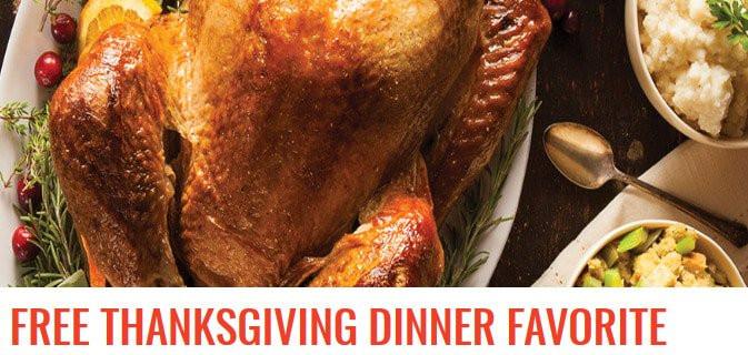 Shoprite Thanksgiving Dinner  Free Turkey for Thanksgiving 2018