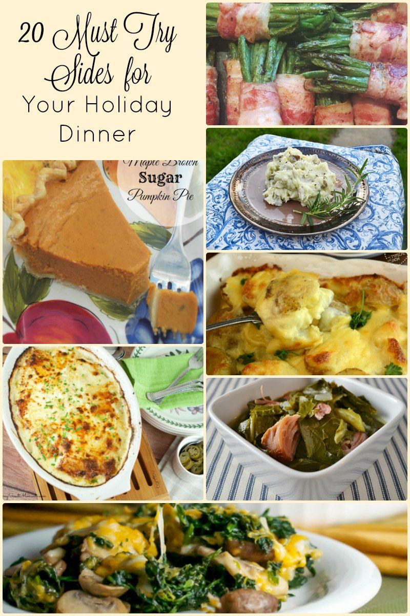 Side Dishes For Christmas Buffet  20 Side Dish Recipes for An Amazing Holiday Dinner