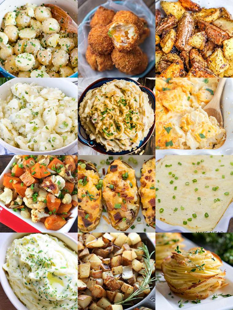 Side Dishes For Christmas Buffet  35 Side Dishes for Christmas Dinner Yellow Bliss Road