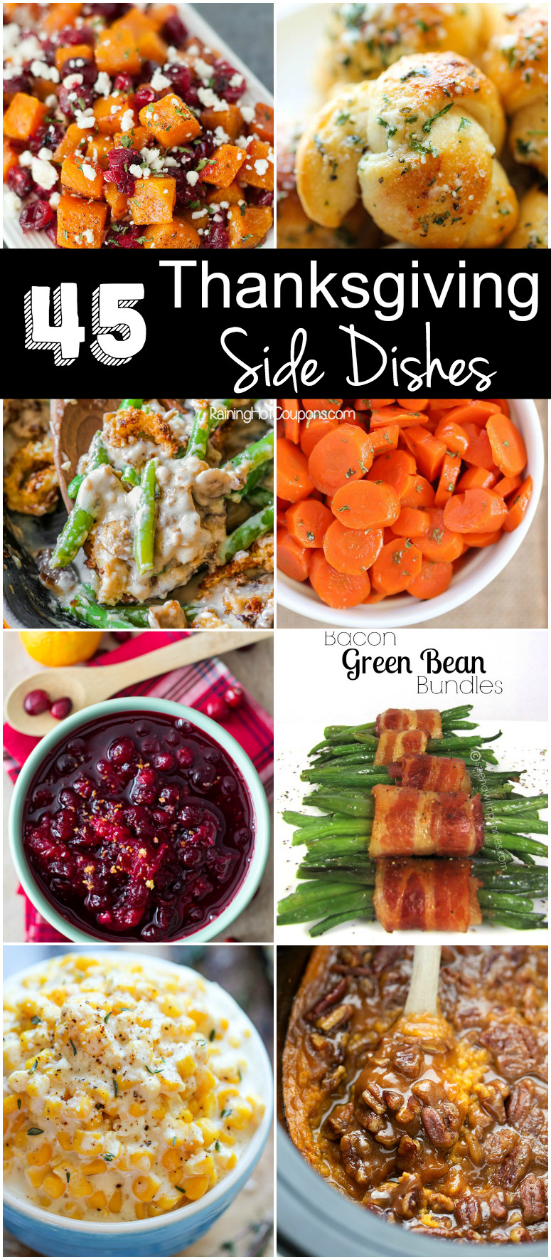 Side Dishes For Thanksgiving Turkey Dinner  45 Thanksgiving Side Dishes
