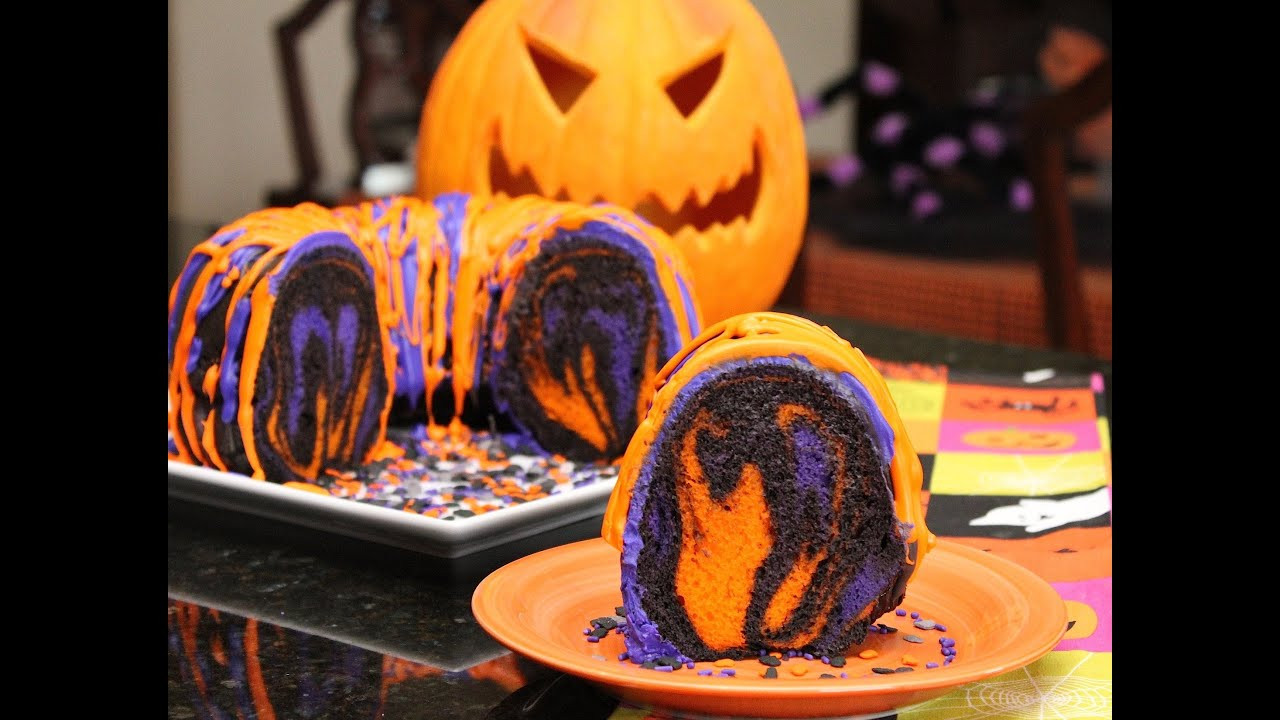 Simple Halloween Cakes  Famous Halloween Rainbow Party Cake Recipes and Ideas