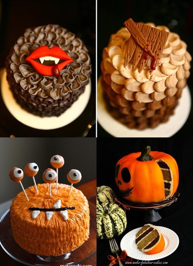 Simple Halloween Cakes  Pop Culture And Fashion Magic Easy Halloween food ideas