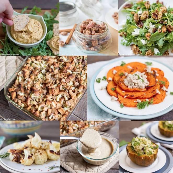 Simple Vegetarian Thanksgiving Recipes  38 gourmet Thanksgiving recipes for vegans and ve arians