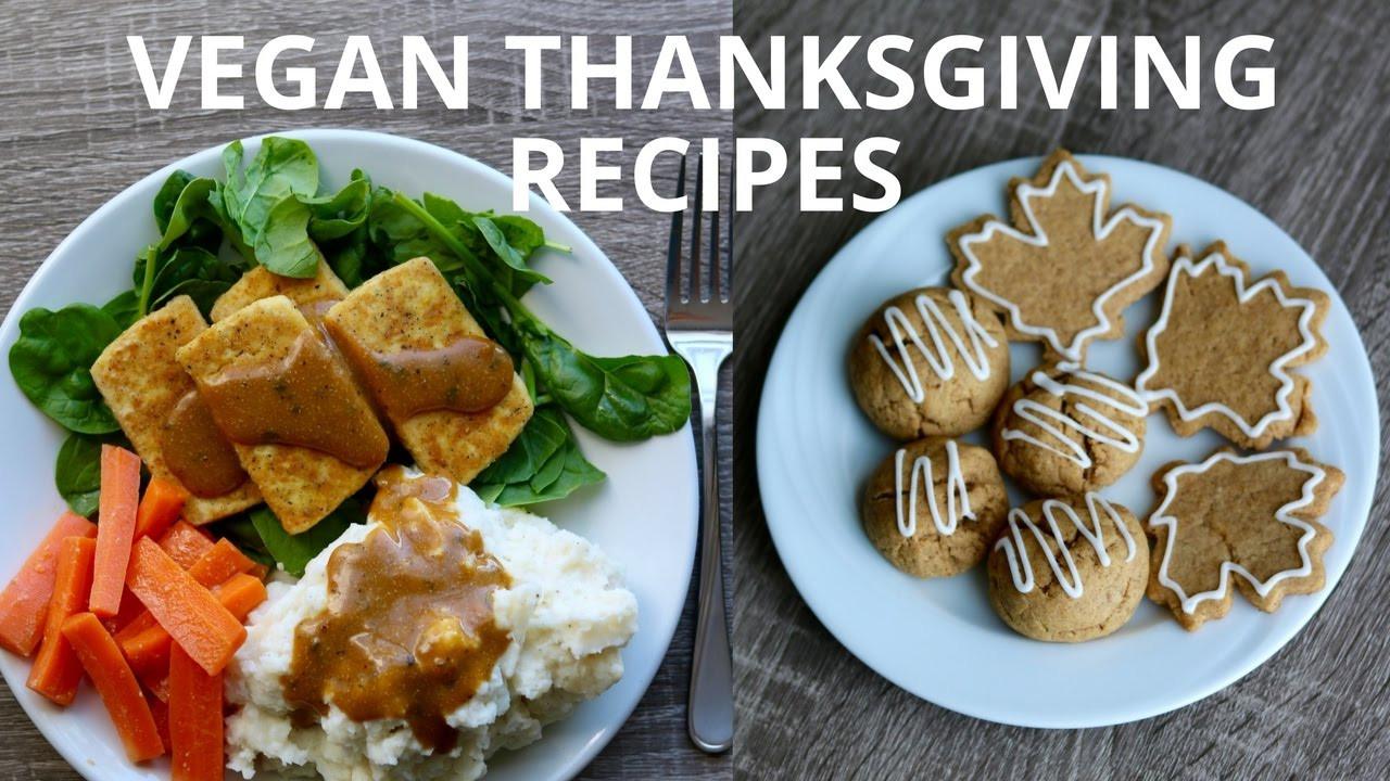 Simple Vegetarian Thanksgiving Recipes  Easy Vegan Thanksgiving Recipes