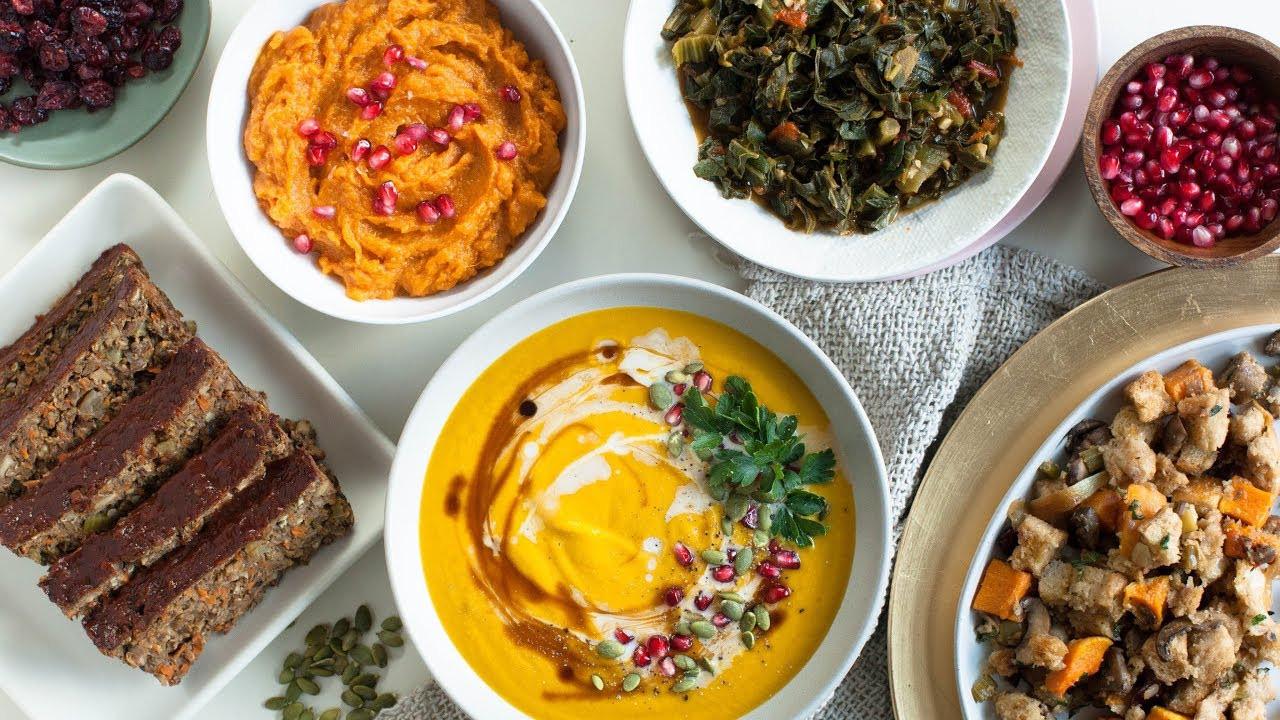 Simple Vegetarian Thanksgiving Recipes  Amazing VEGAN THANKSGIVING Recipes