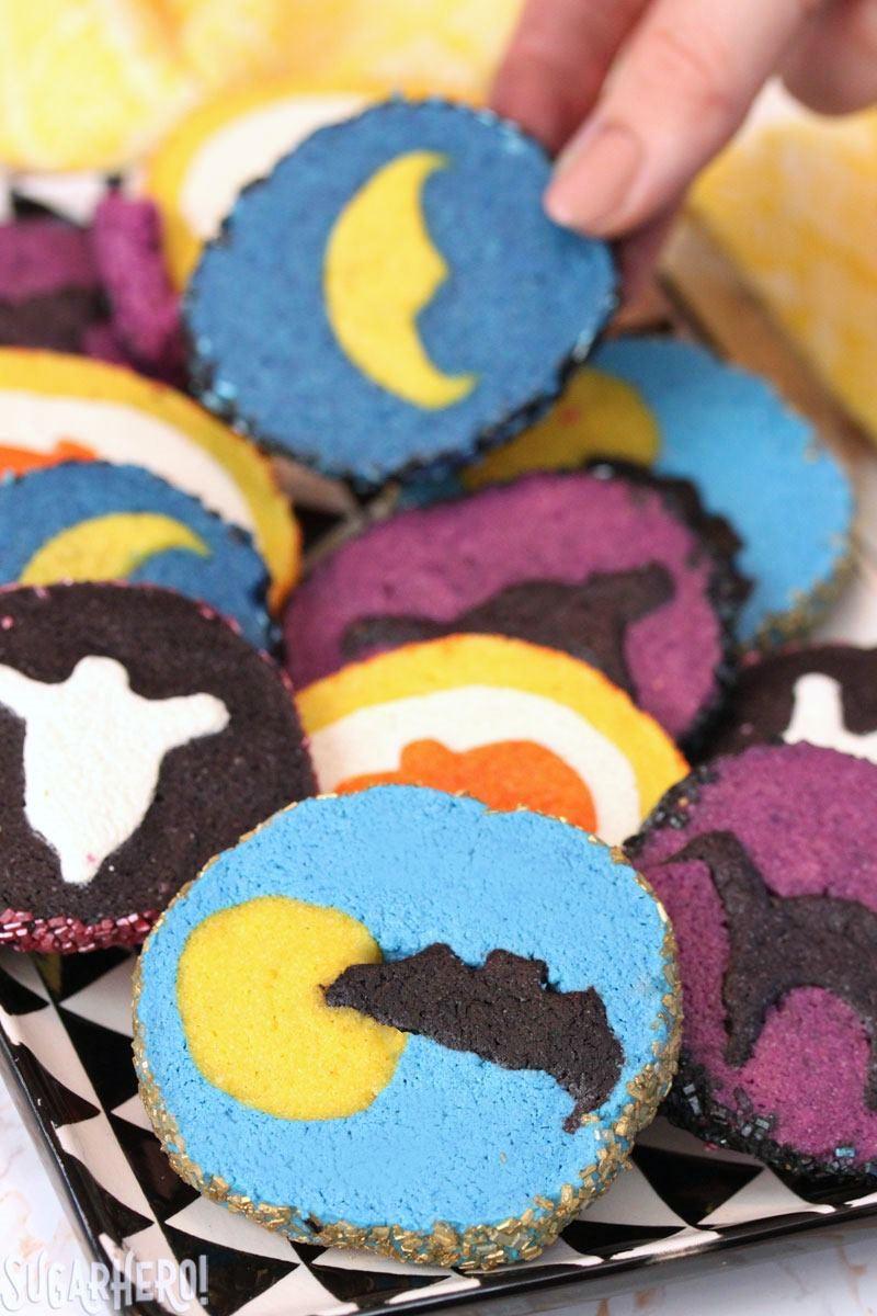 Slice And Bake Halloween Cookies  Slice and Bake Halloween Cookies SugarHero