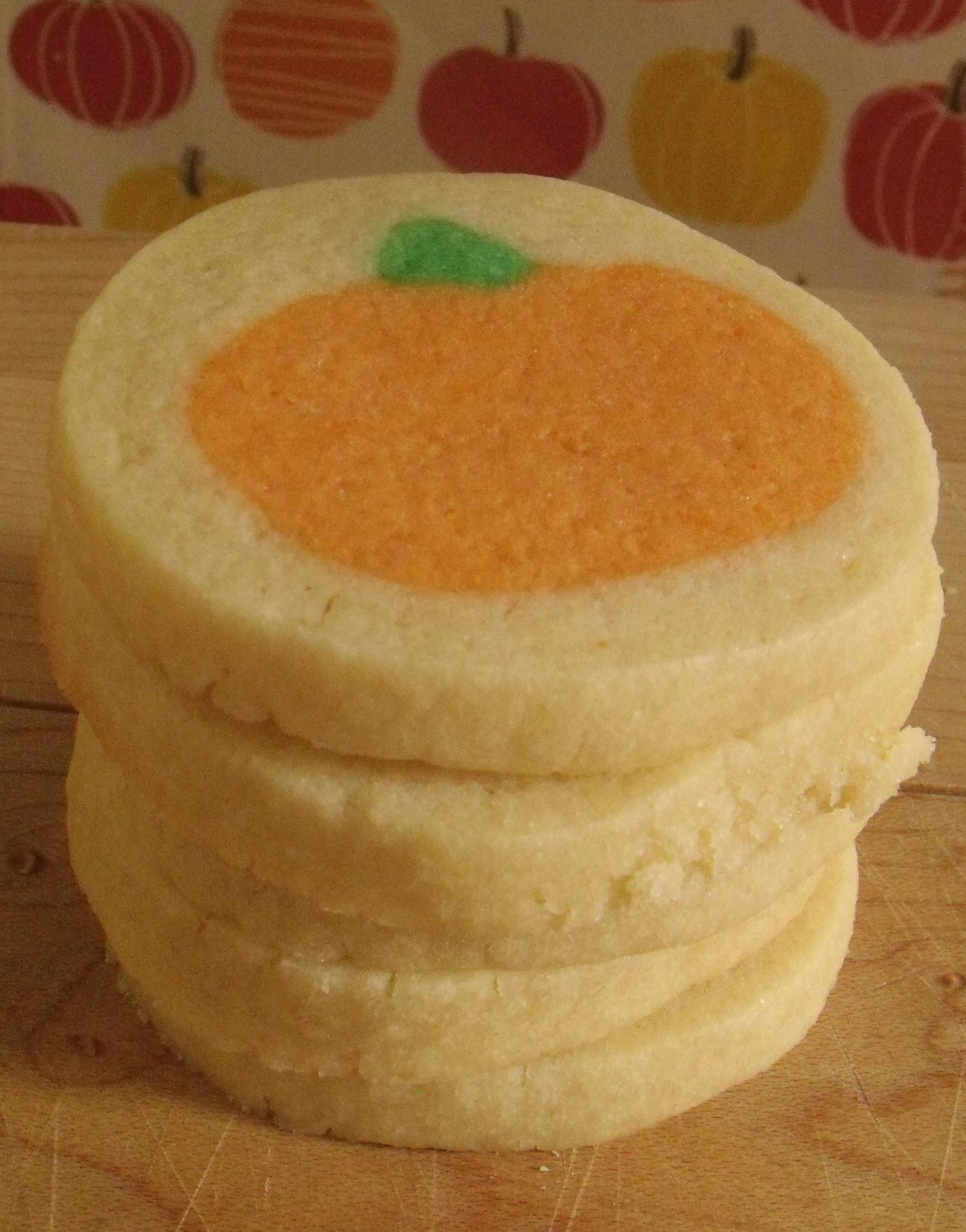 Slice And Bake Halloween Cookies  Slice and Bake Pumpkin Sugar Cookies – Bluenose Baker