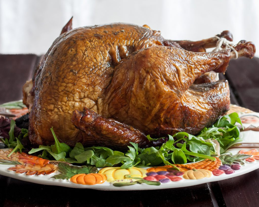 Smoked Turkey For Thanksgiving  The Godfather s Smoked Turkey Goo Godmother A