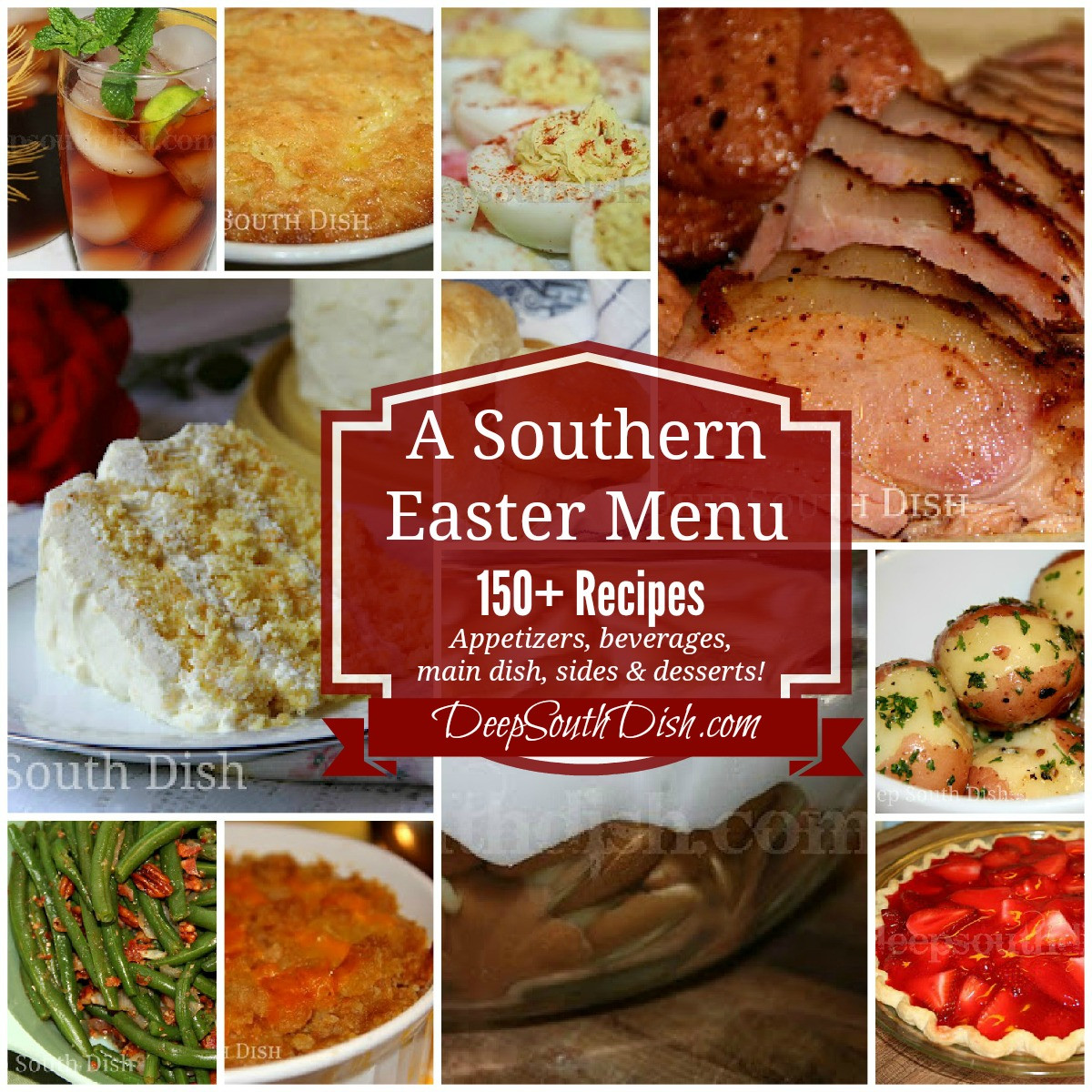 Soul Food Christmas Dinner Menu  Deep South Dish Southern Easter Menu Ideas and Recipes