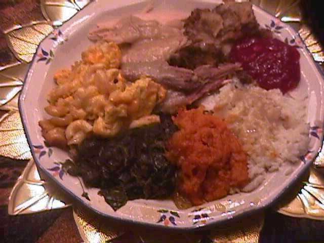Soul Food Thanksgiving Dinner Menu  Soul Food Foods