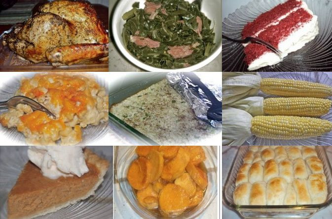 Soul Food Thanksgiving Dinner Menu  114 best images about yes divas can cook recipes on Pinterest