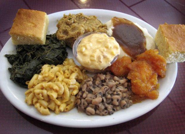 Soul Food Thanksgiving Dinner Menu  Everything but the turkey