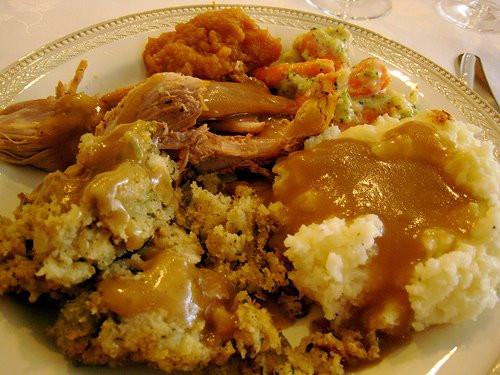 Soul Food Thanksgiving Dinner Menu  Jungle Red Writers Thanksgiving dinner