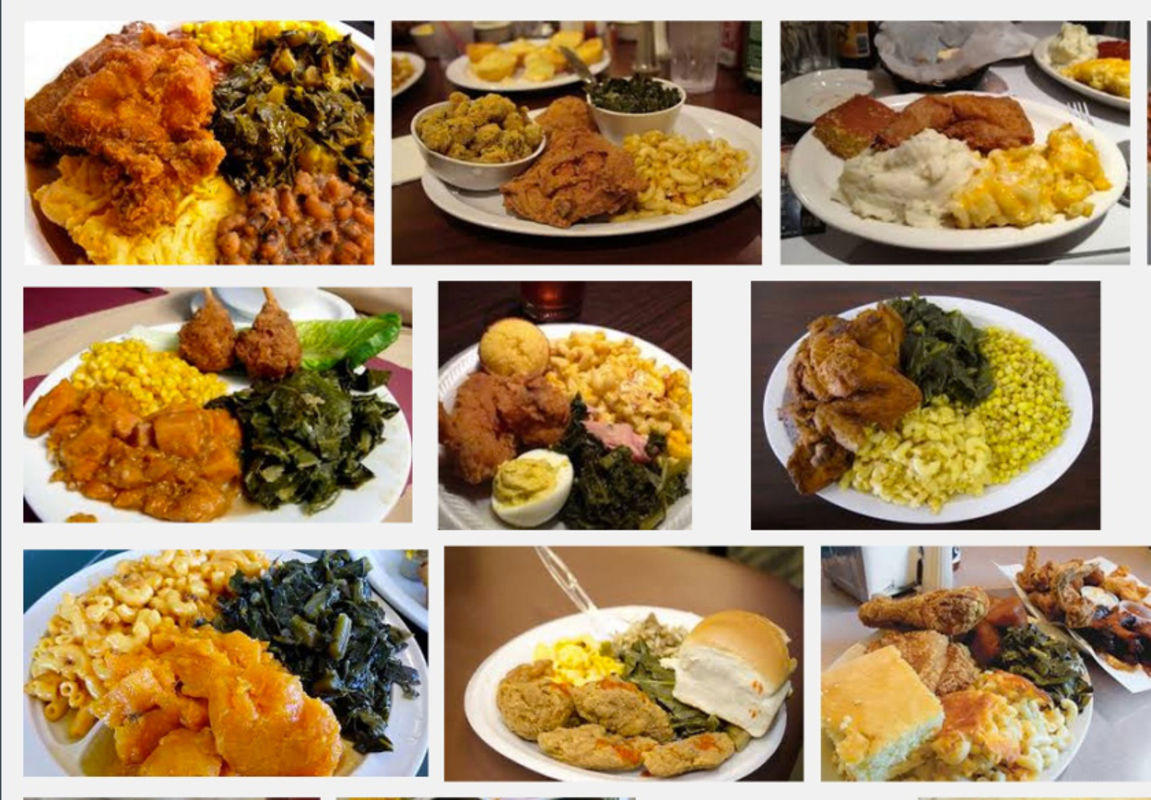 Soul Food Thanksgiving Dinner Menu  Victory Soul Food Delivery W Warren Ave Detroit