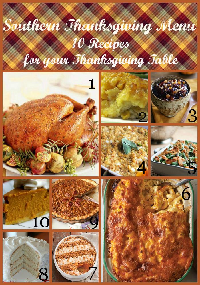 Southern Thanksgiving Dinner Menu  Belle & Beau Antiquarian Southern Thanksgiving Menu 10