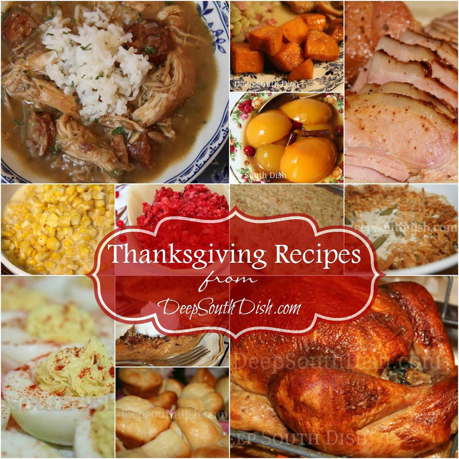 Southern Thanksgiving Dinner Menu  Deep South Dish Deep South Southern Thanksgiving Recipes