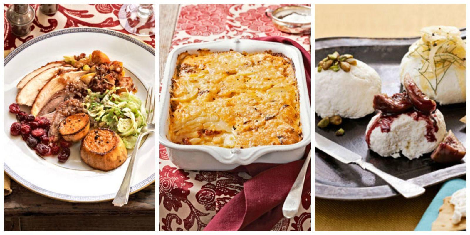 Southern Thanksgiving Dinner Menu  Southern Thanksgiving Dinner Recipes Menu from a