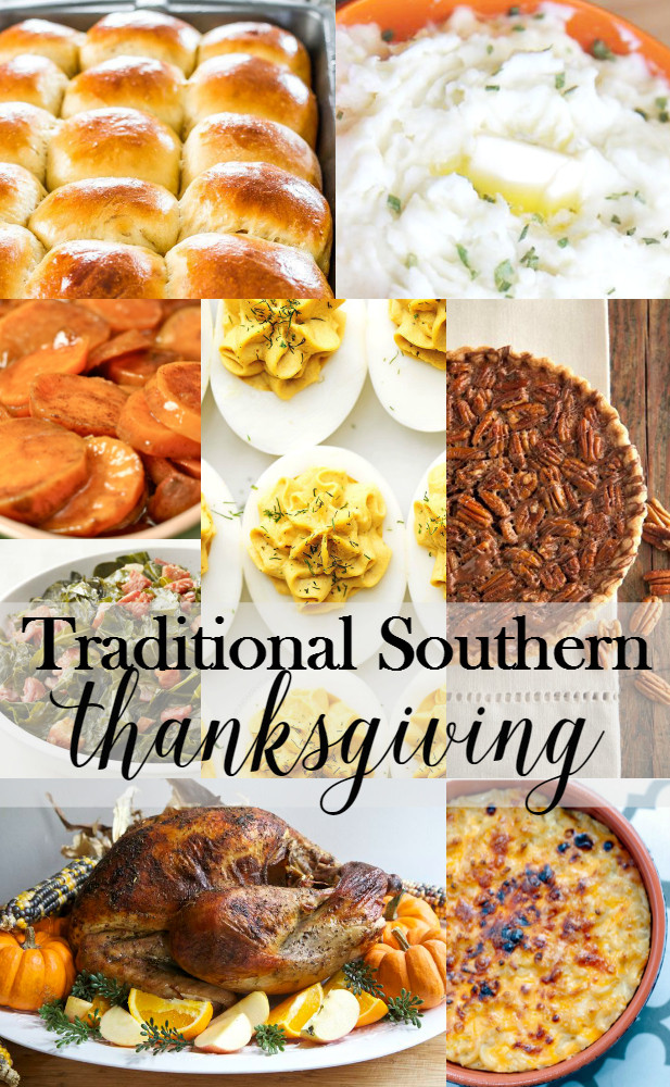 Southern Thanksgiving Dinner Menu  Traditional Southern Thanksgiving Menu