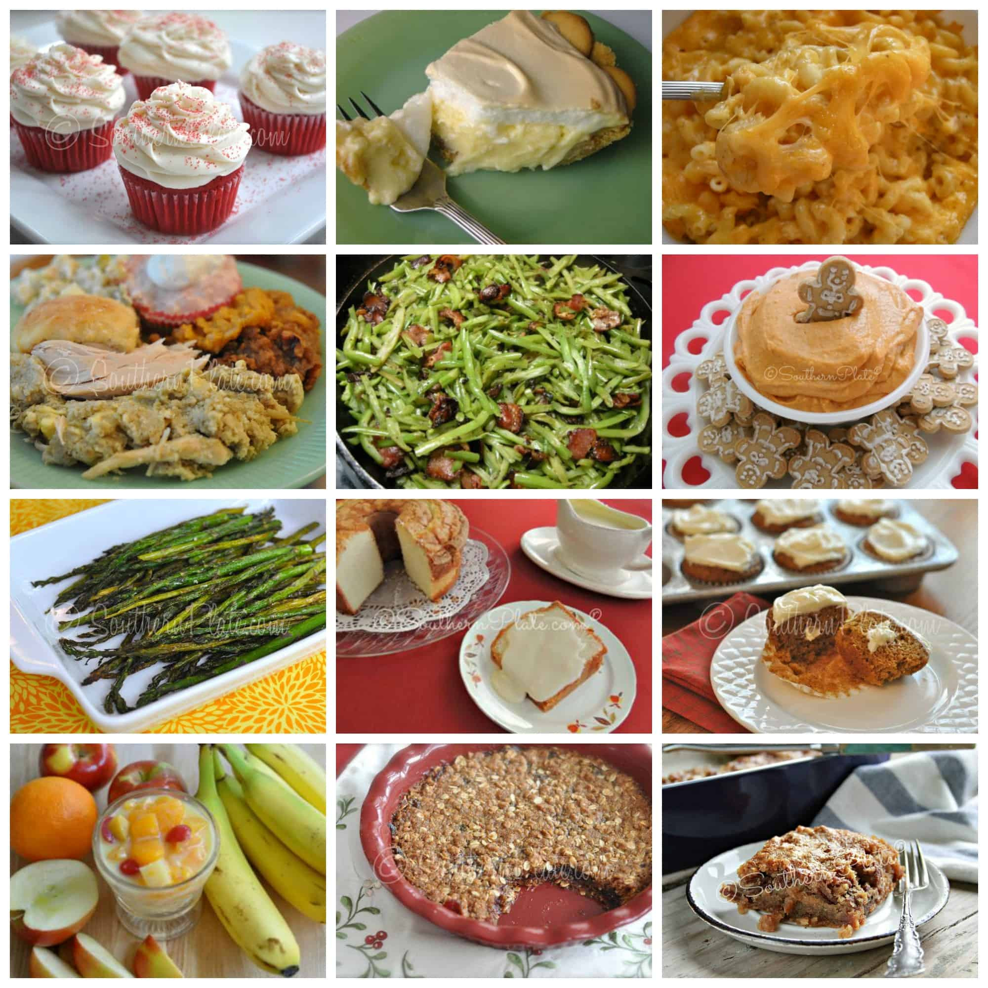 Southern Thanksgiving Dinner Menu  Holiday Menu Bonanza with time saving tips 70 RECIPES