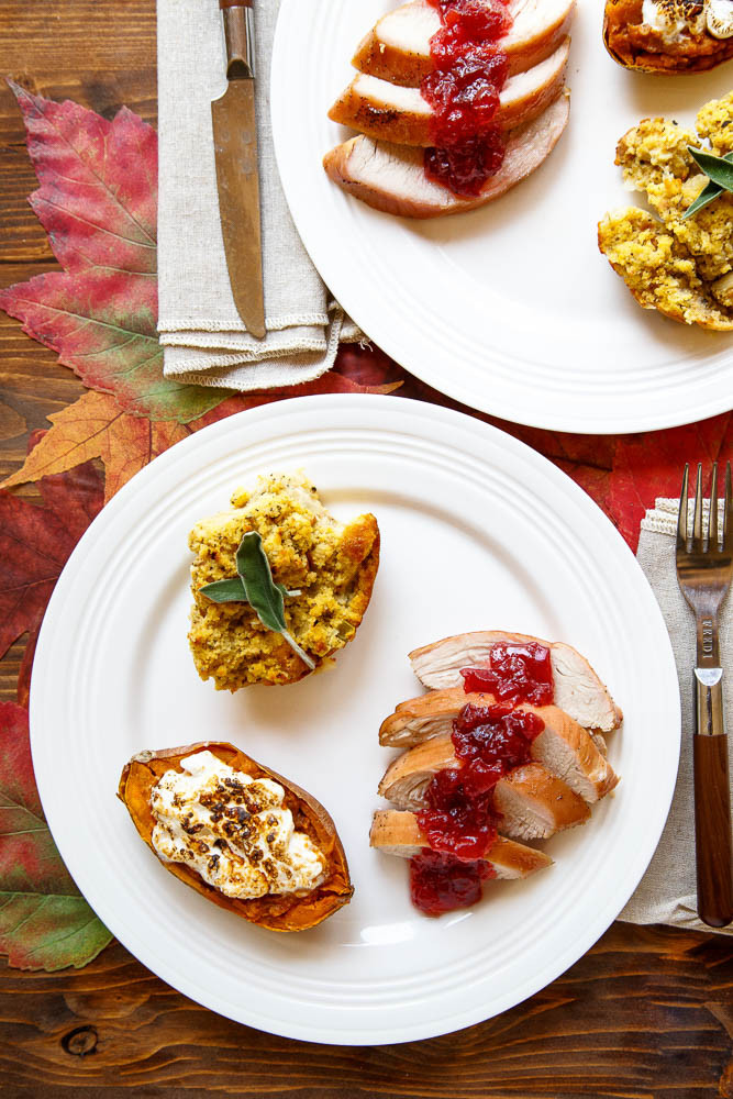 Southern Thanksgiving Dinner Menu  Cooking for two