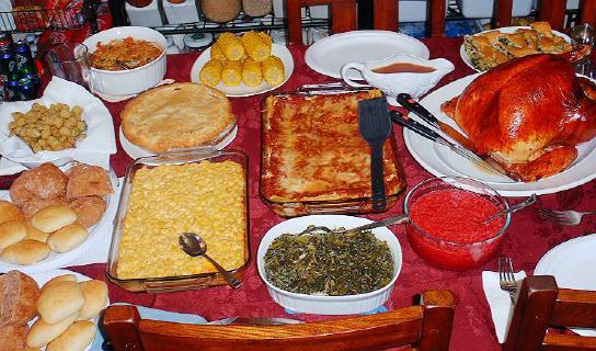 Southern Thanksgiving Dinner Menu  Thanksgiving Dinner Recipes