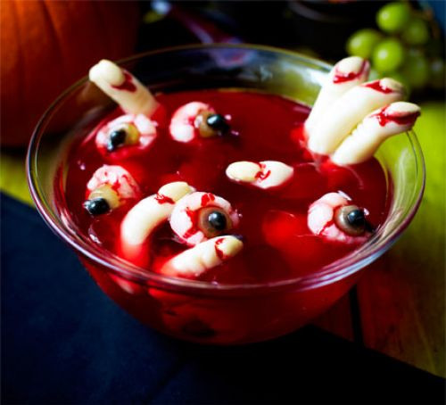 Spooky Halloween Desserts  Scary Halloween jelly recipe