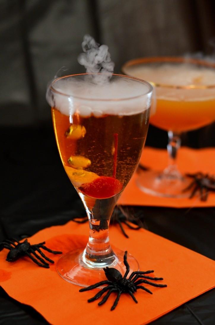 Spooky Halloween Drinks  Spooky Halloween Drinks Simply Darrling