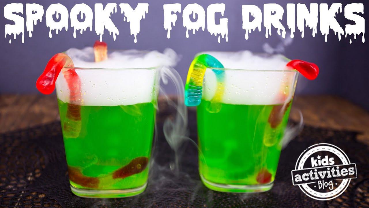 Spooky Halloween Drinks  Spooky Fog Drinks for a Halloween Party