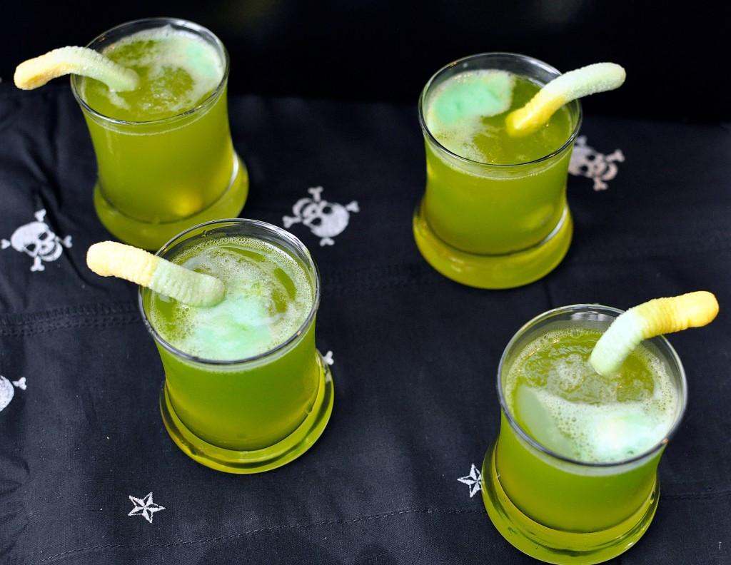 Spooky Halloween Drinks  Recipe Spooky Sparkling Punch Rockin Mama™