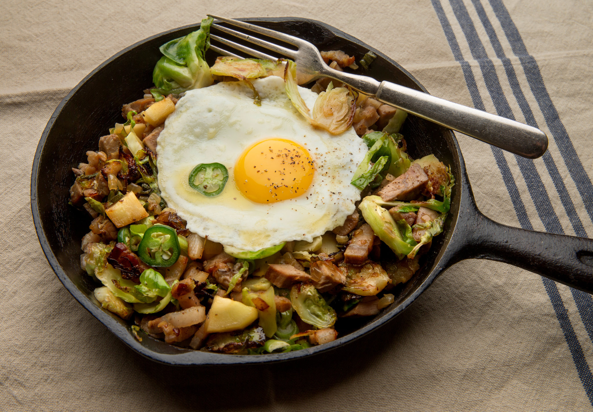 Sprouts Thanksgiving Turkey  Turkey Hash With Brussels Sprouts and Parsnips Recipe
