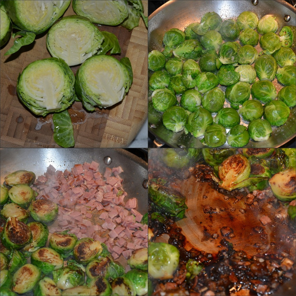 Sprouts Thanksgiving Turkey  Brussels Sprouts with Turkey Bacon and Dates
