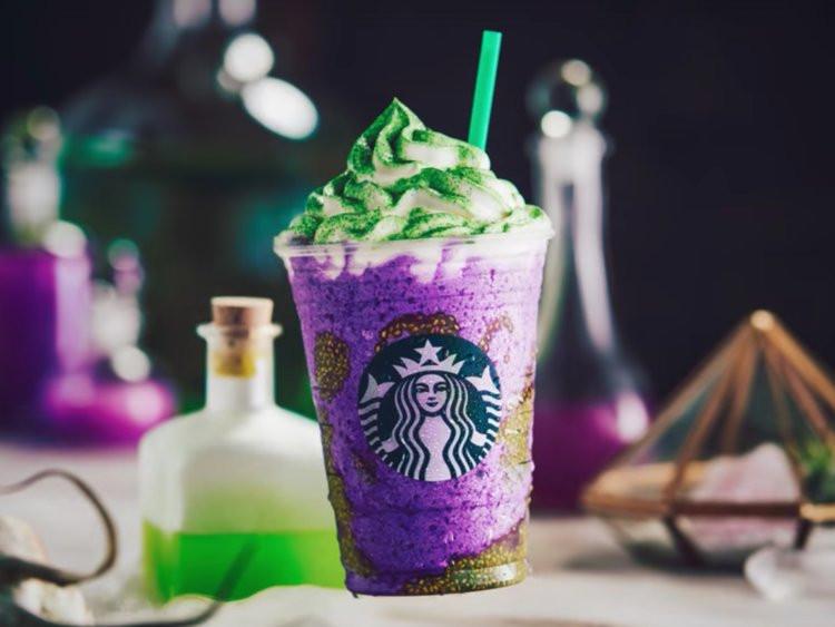 Starbucks Halloween Drinks 2019  Starbucks Halloween drinks debut as Dunkin Donuts pushes