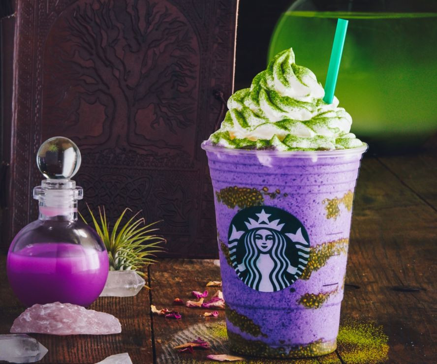 Starbucks Halloween Drinks 2019  Starbucks unveils new Witch s Brew Frappuccino for Halloween