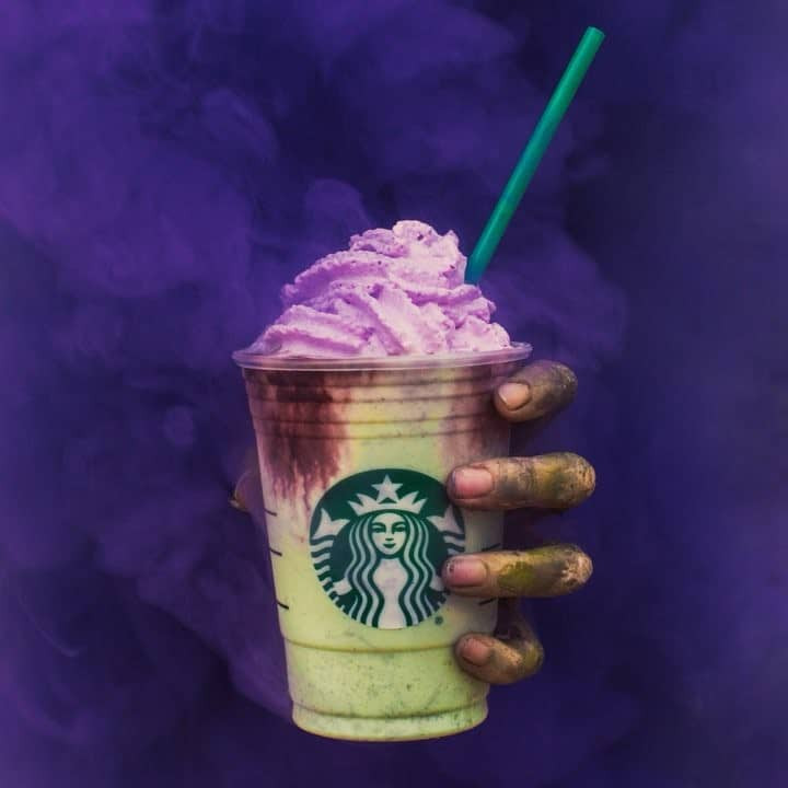 Starbucks Halloween Drinks 2019  Starbucks Is Bringing The Zombie Frappuccino To Select