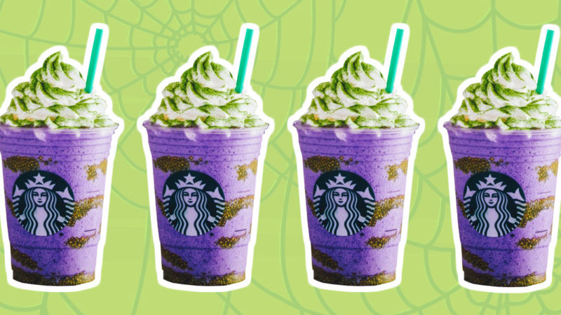 Starbucks Halloween Drinks 2019  Starbucks Unveils the Witch s Brew Frappuccino for