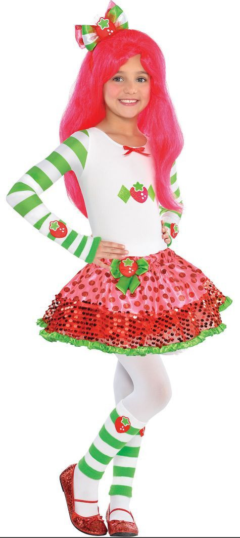 Strawberry Shortcake Halloween  Girls Strawberry Shortcake Costume Party City