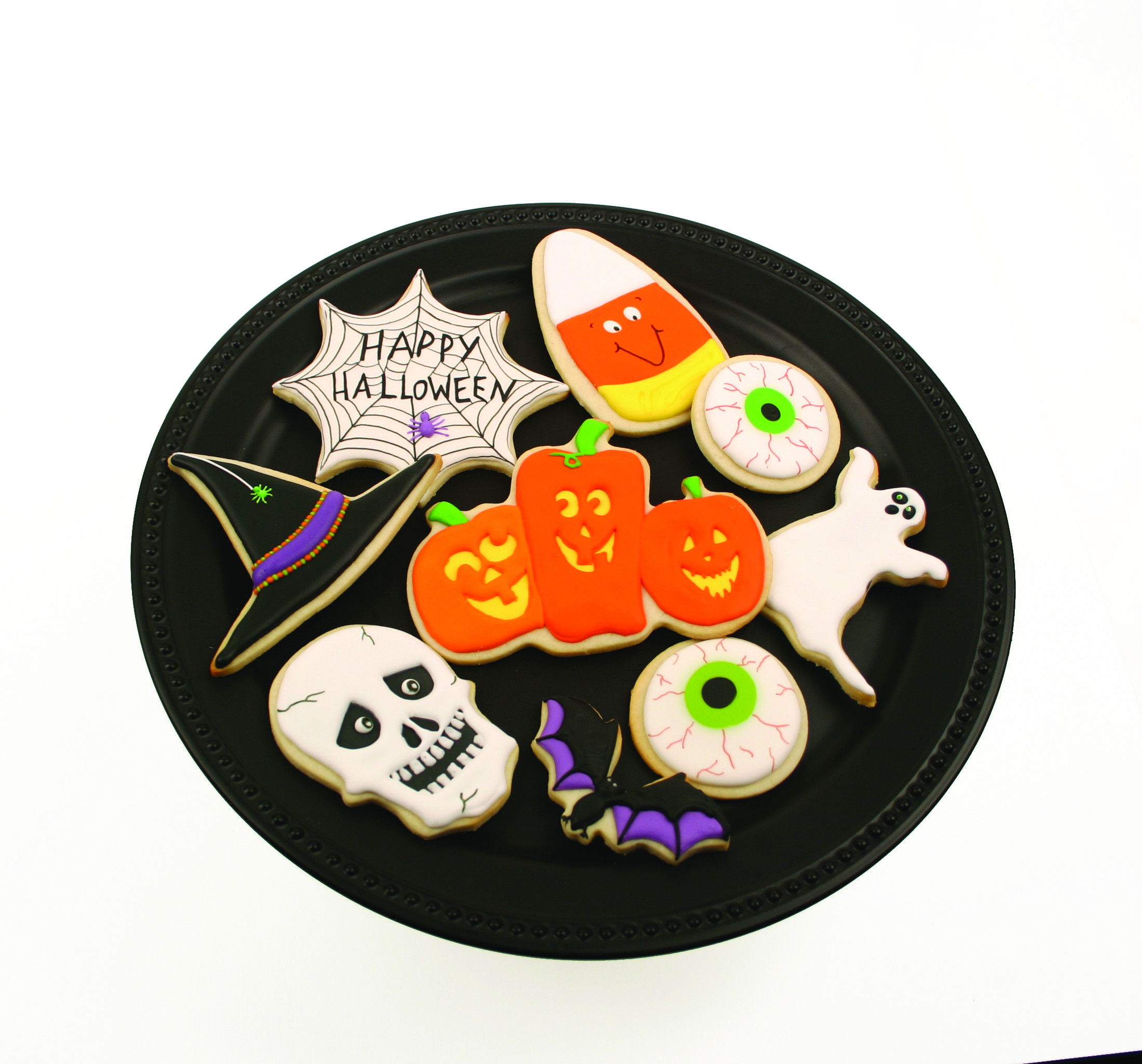 Sugar Cookies Halloween  Halloween Run Sugar Cookies