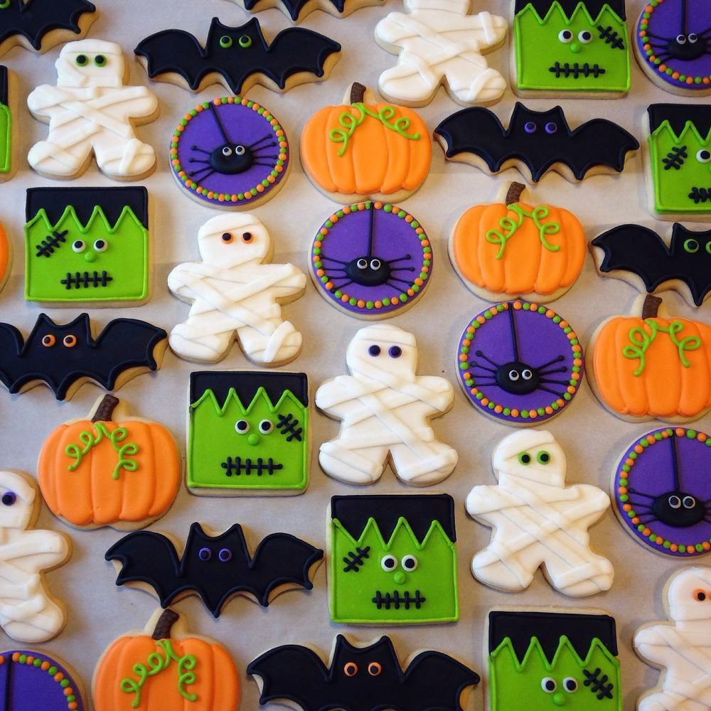 Sugar Cookies Halloween  Halloween Cookie Connection Halloween