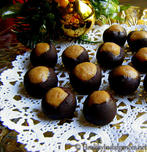 Sugar Free Christmas Candy  Chocolate Giveaways Healthier Buckeyes and Christmas