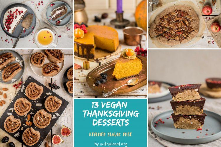 Sugar Free Thanksgiving Desserts  Vegan Thanksgiving Desserts [Sugar Free]
